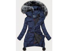 Zimná bunda s brmbolcami