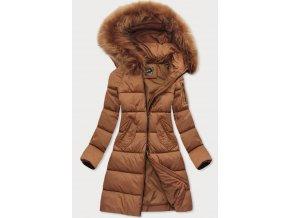 Dlhá prešívaná zimná bunda