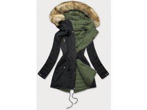Obojstranná zimná bunda