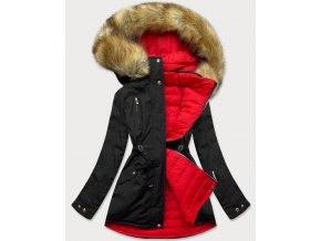Obojstranná zateplená bunda