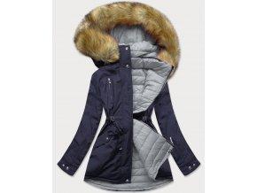 Obojstranná prešívaná zimná bunda