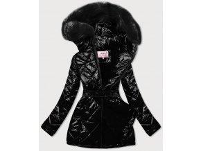 Luxusná lesklá bunda