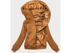 Obojstranná prechodná bunda s barančekom