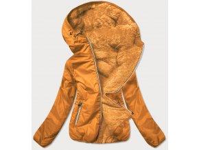 Obojstranná krátka prechodná bunda