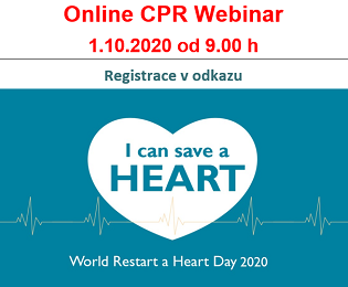 Online CPR training LAERDAL. Registrace v odkazu na konci stránky.