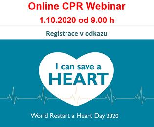 Online CPR training LAERDAL. Registrace v odkazu na konci stránky.