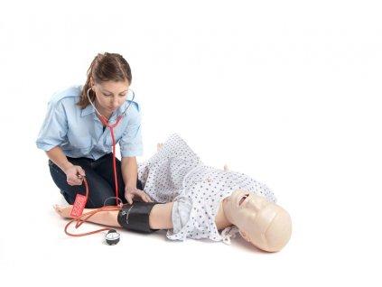 Nursing Kelly - Figurína pro ošetřovatelství - muž