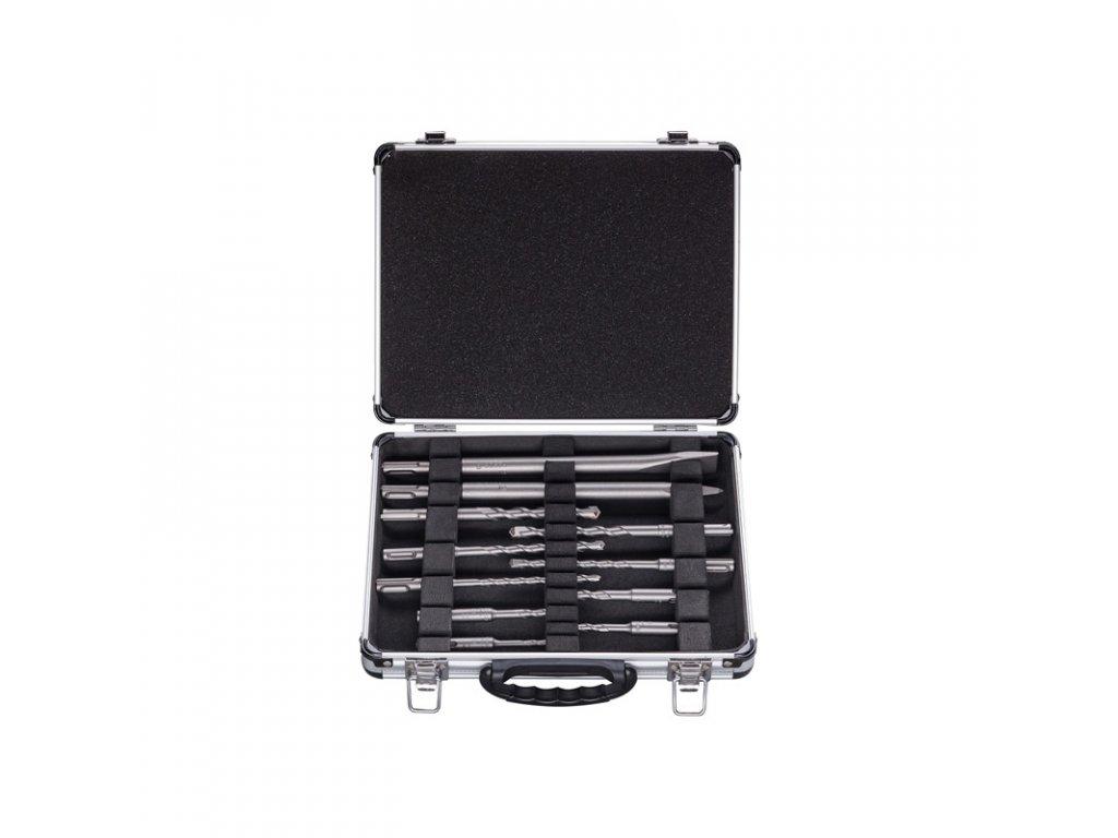 Bosch 11 dielna sada vrtákov a sekáčov SDS-plus v hlinikovom kufríku