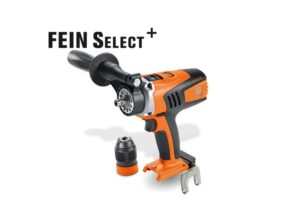 4-chodový vŕtací skrutkovač Fein ASCM 18 QM Select