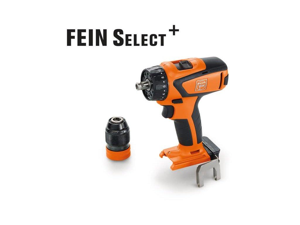 4-stupňový aku vŕtací skrutkovač Fein ASCM 18 QSW Select