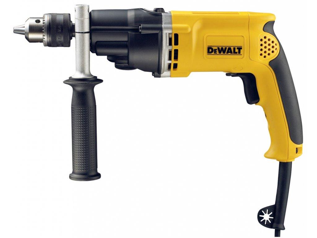 Dvojrýchlostná príklepová vŕtačka - 770W - DeWALT D21805