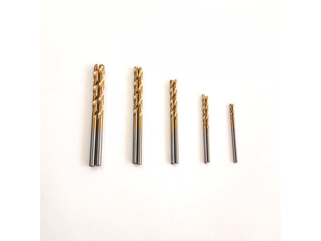 Sada vrtákov 1 - 3 mm