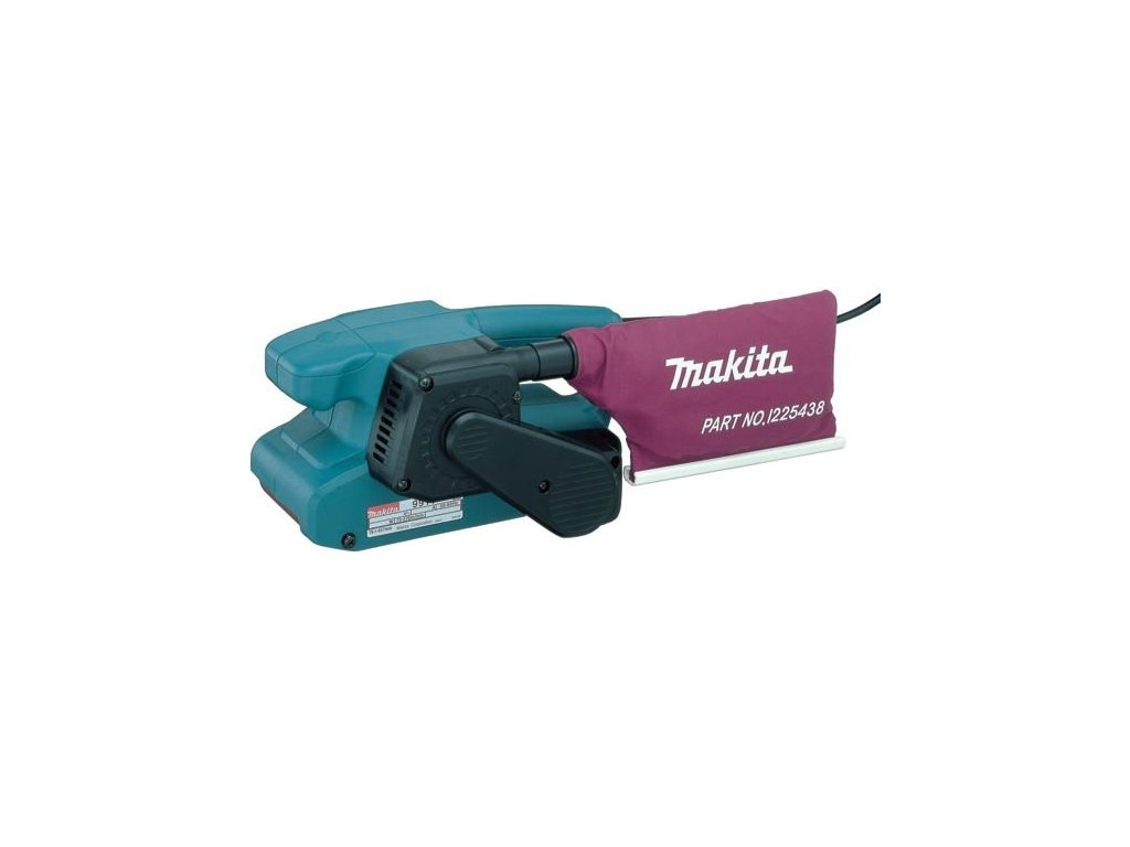 Makita 9910 pásová bruska 457x76mm, 650W