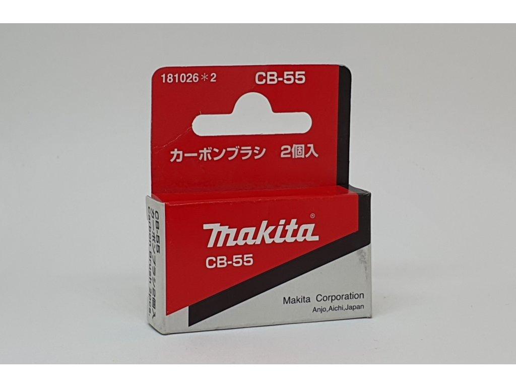 Uhlíky Makita CB-55
