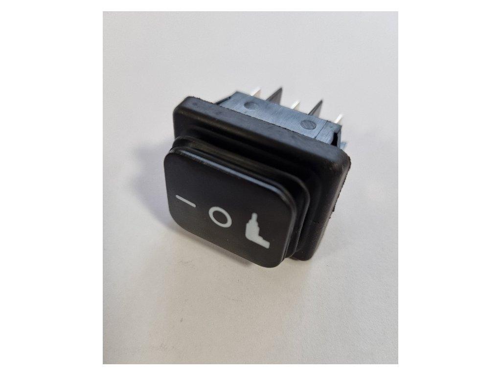 Makita W107409135 - vypínač VC2012L VC2512L VC3011L