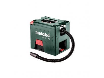 Akumulátorový vysávač Metabo AS 18 L PC