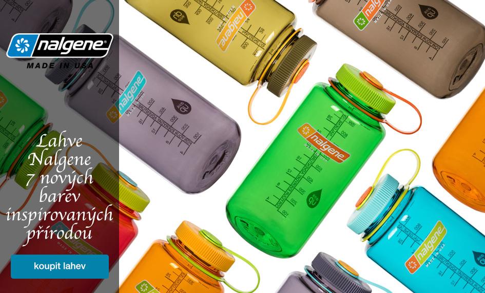 Nalgene - kvalitní lahve na vodu vyrobené v USA.