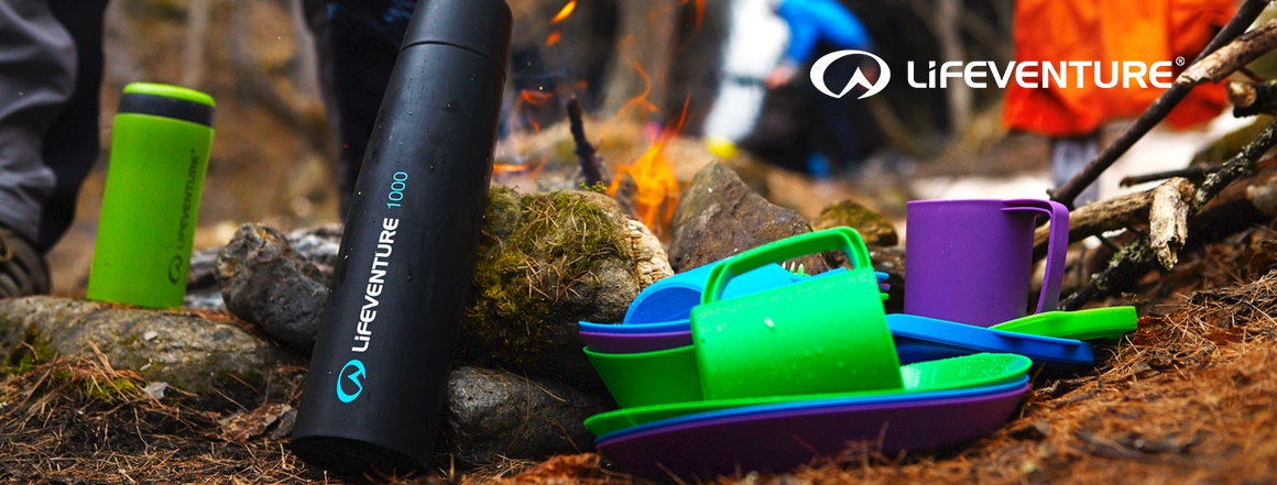 Termosky, termohrnky, outdoorové vybavení