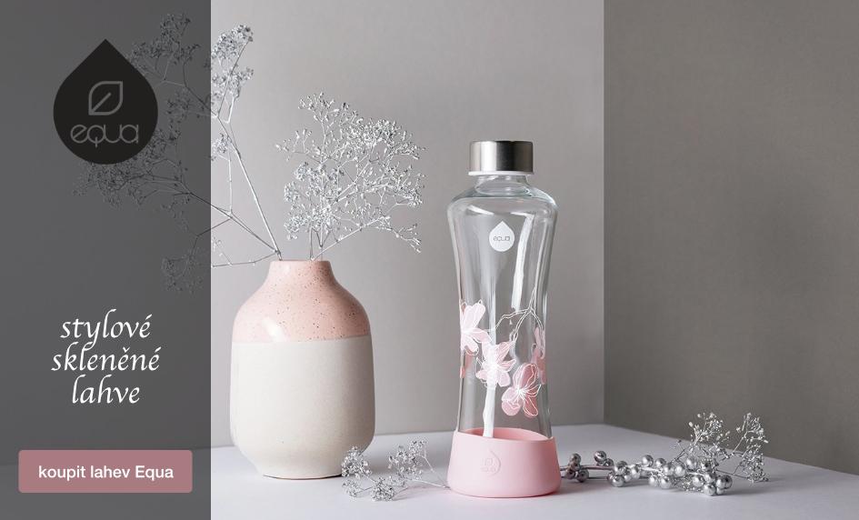 Equa - praktické skleněné a plastové lahve