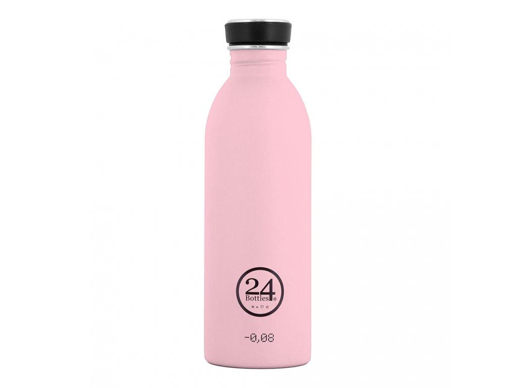24Bottles - nerezová lahev Urban Bottle 500 ml Candy Pink