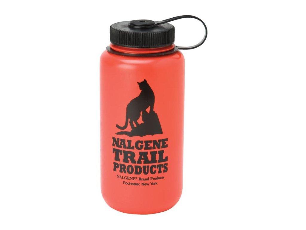 NALGENE - láhev na pití Wide Mouth 1000 ml Red Cat Logo