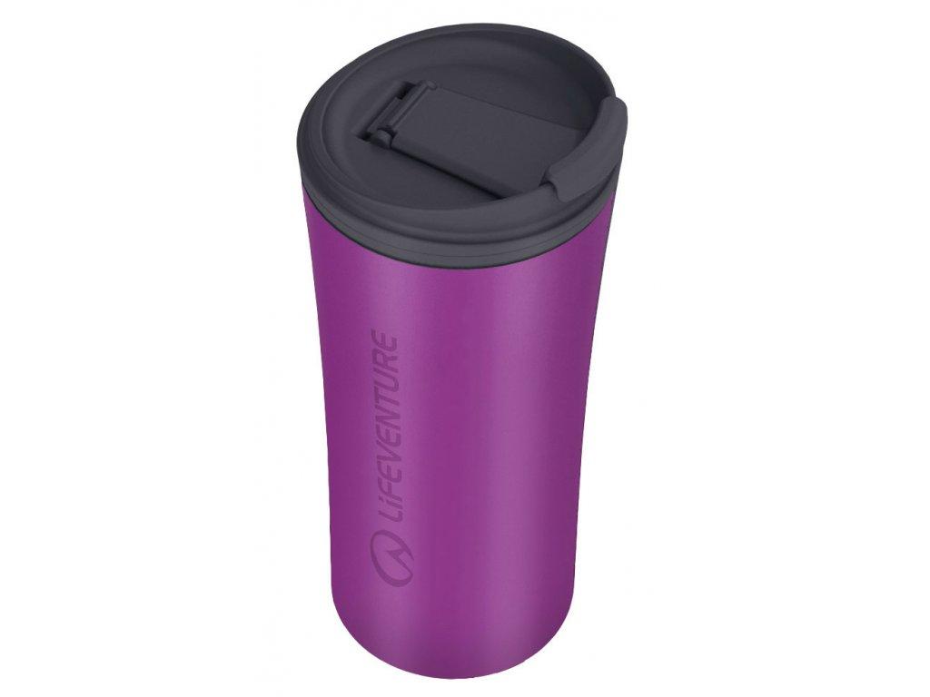 LifeVenture - cestovní hrnek Ellipse Travel Mug 300 ml fialový