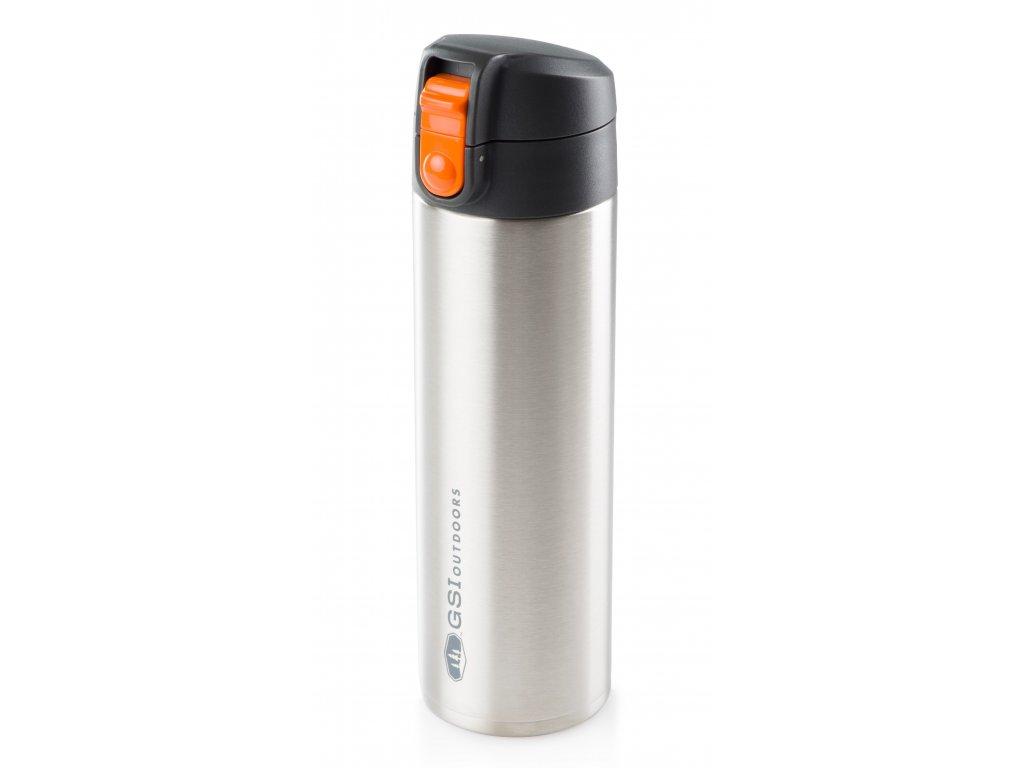 GSI nerezový termohrnek Microlite 500 ml stříbrný