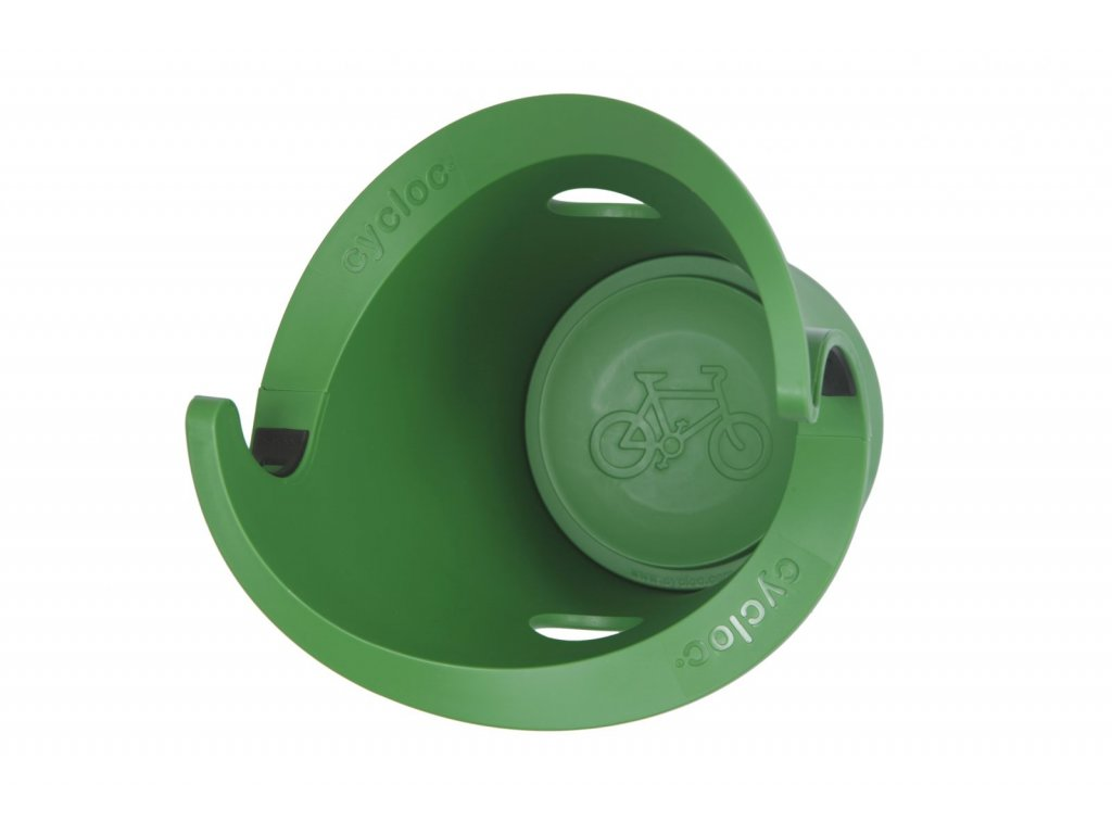 Cycloc - SOLO držák na kolo zelený