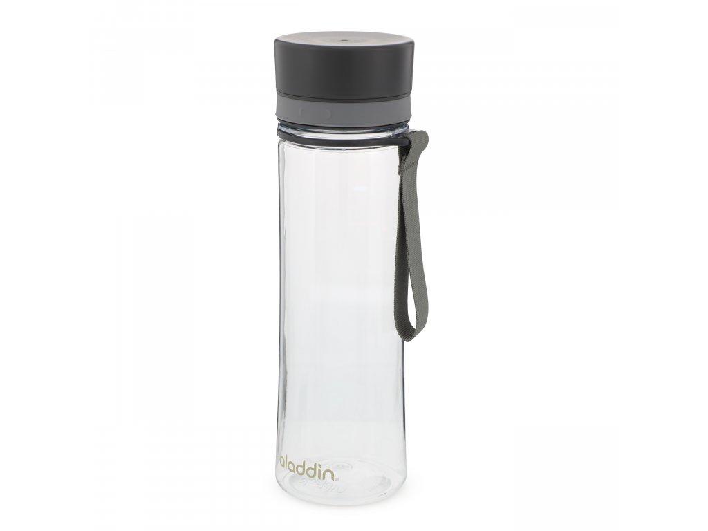 Aladdin láhev na vodu Aveo 600 ml šedý uzávěr 1