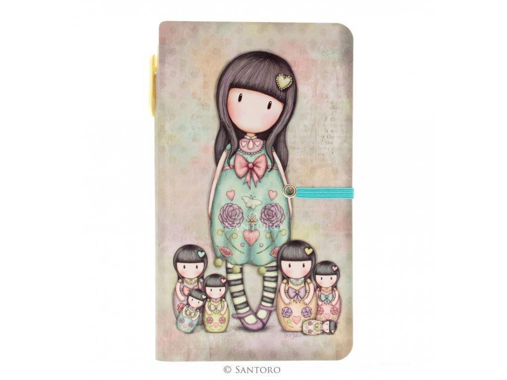 SANTORO zápisník s tužkou SEVEN SISTERS