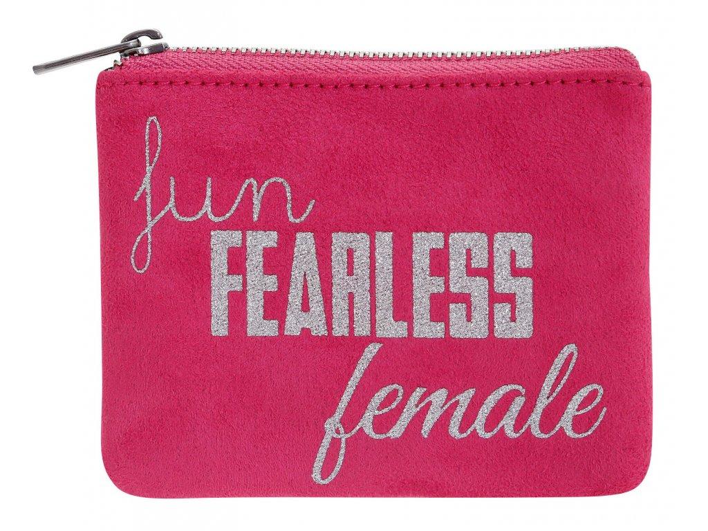 SANTORO - pouzdro na drobnosti Statement Pieces Purse - Fun, Fearless, Female