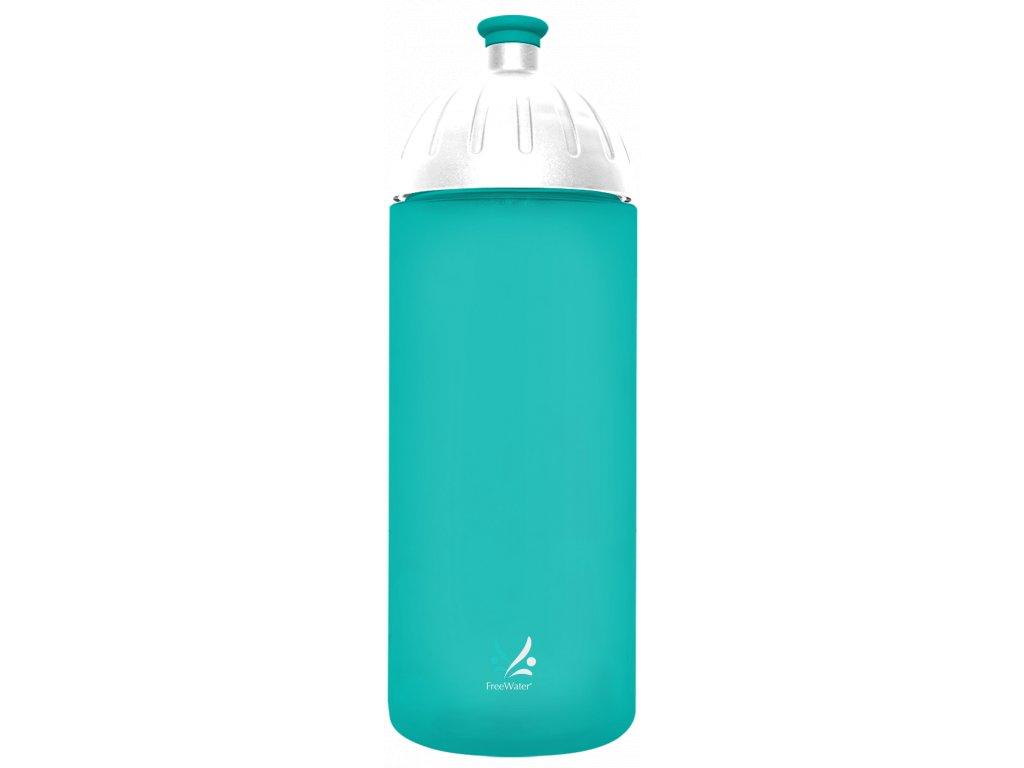 FreeWater sportovní láhev na pitív tyrkysové barvě