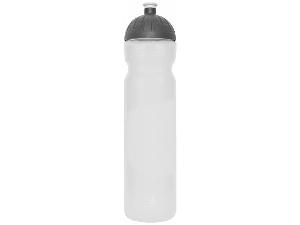 FreeWater plastová lahev 1,0l Logo malé transparentní