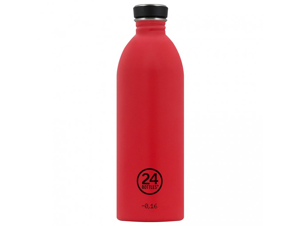 24Bottles nerezová lahev na vodu Urban Bottle 1000 ml Hot Red 1