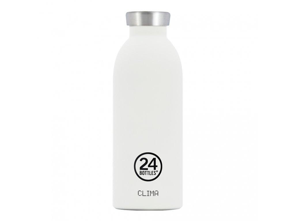 24Bottles nerezová termolahev Clima Bottle Ice White 500 ml 1