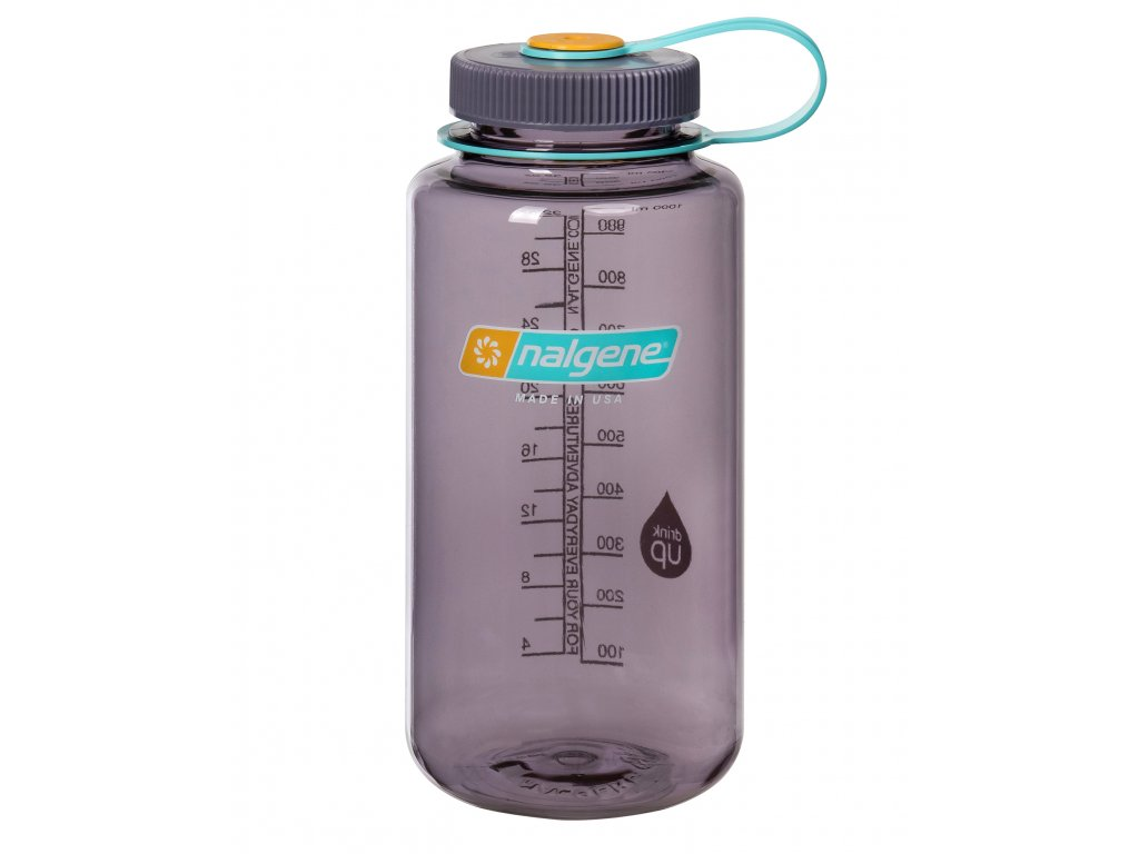 NALGENE láhev na pití Wide Mouth 1000 ml Aubergine 1