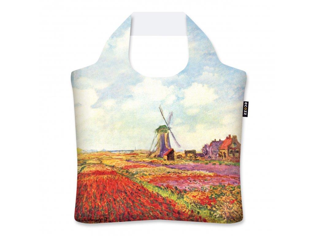 ECOZZ skládací nákupní taška Tulip fields in Holland 1