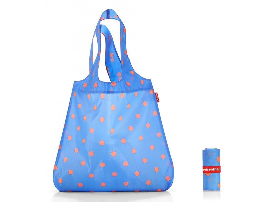 Reisenthel skládací taška MINI MAXI SHOPPER azure dots 1