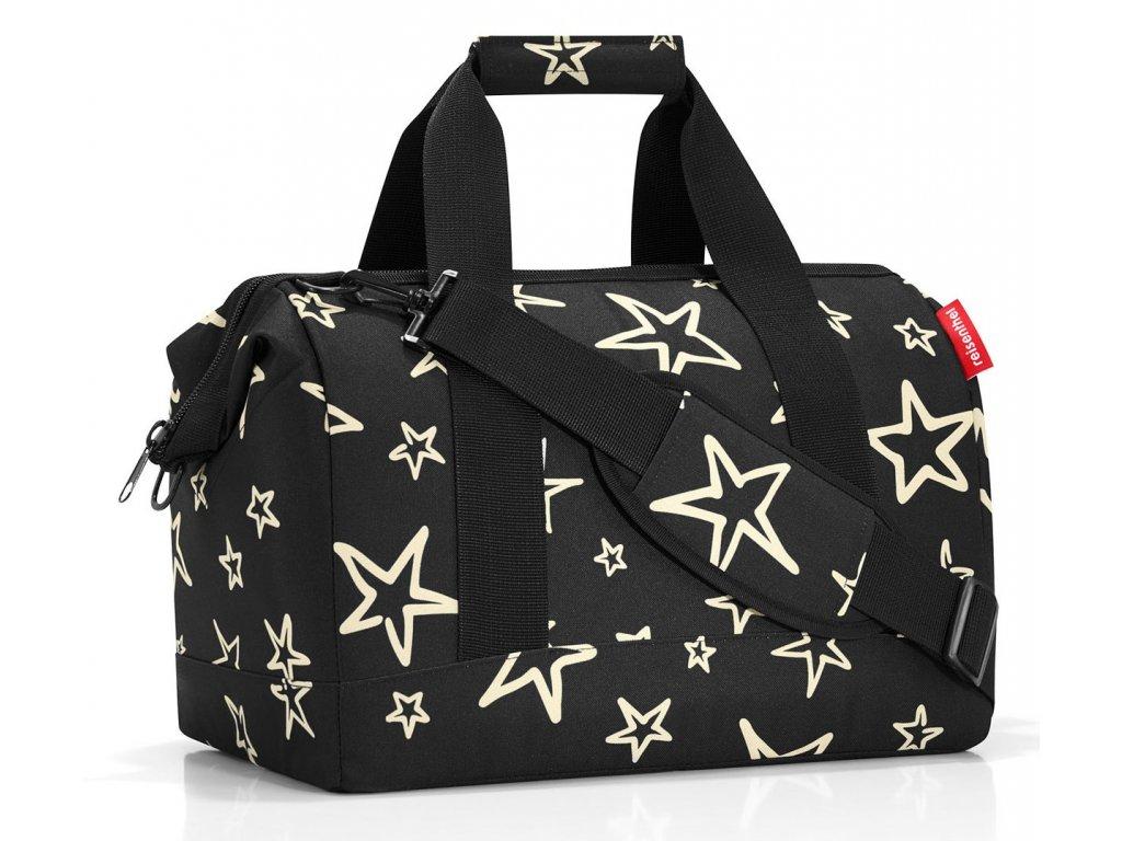 Reisenthel cestovní taška Allrounder M stars 1