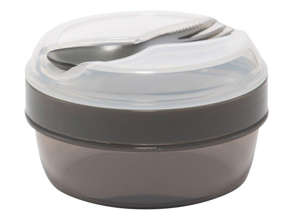 Carl Oscar svačinový box N'ice Cup s chladící vložkou šedý 1