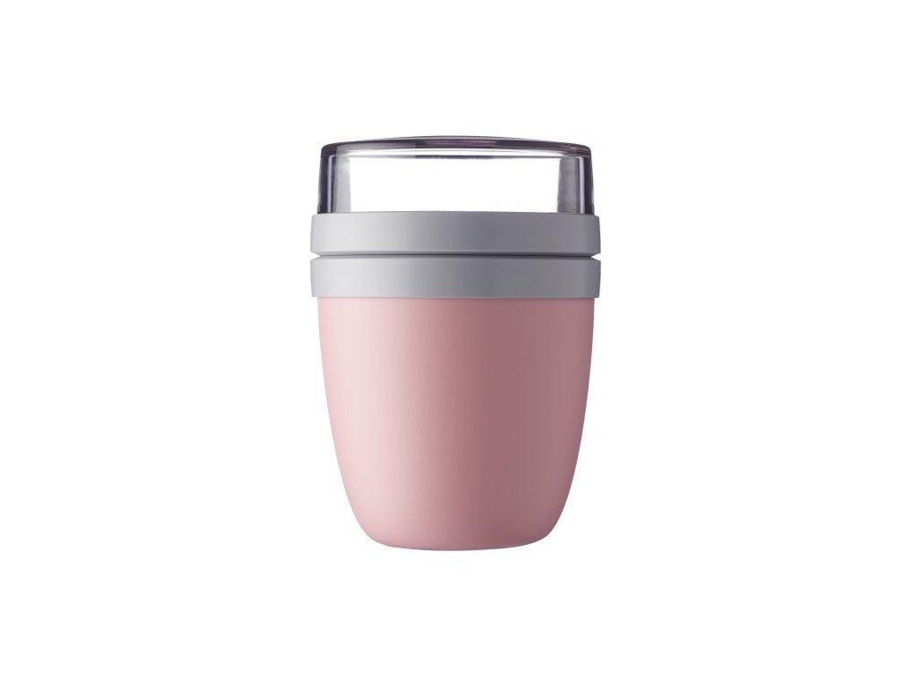 Mepal svačinový box Lunchpot Ellipse nordic pink