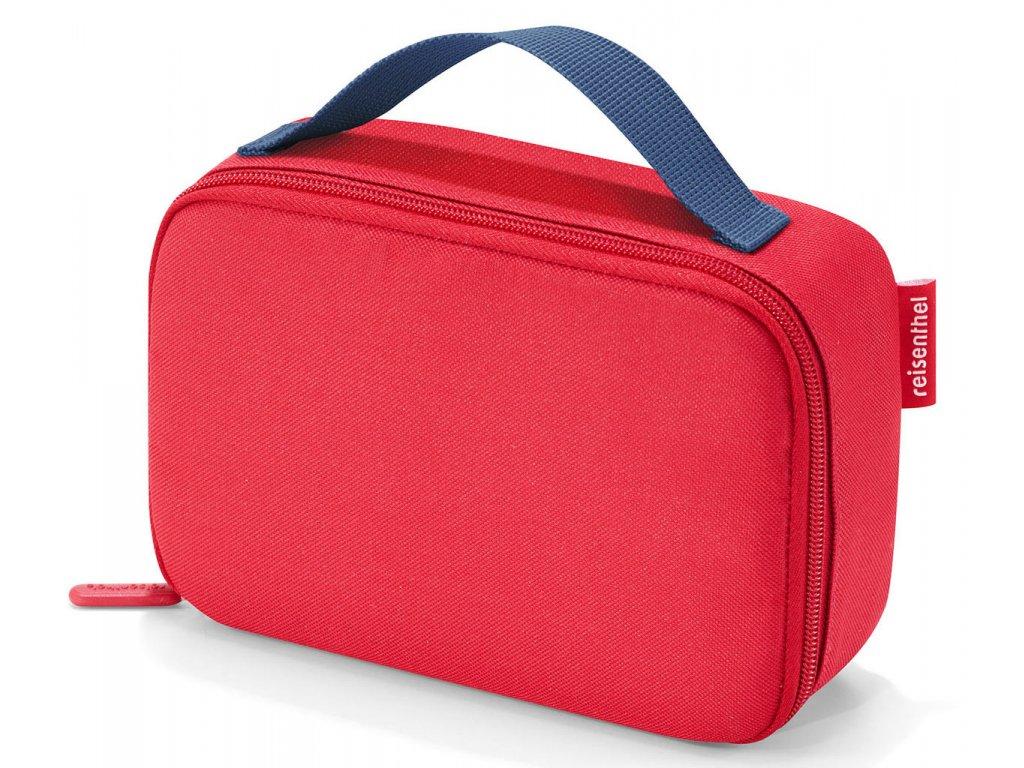 Červená malá termo taška