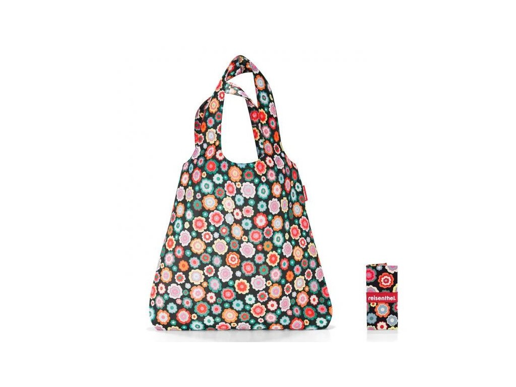 Reisenthel - skládací taška MINI MAXI SHOPPER happy flowers