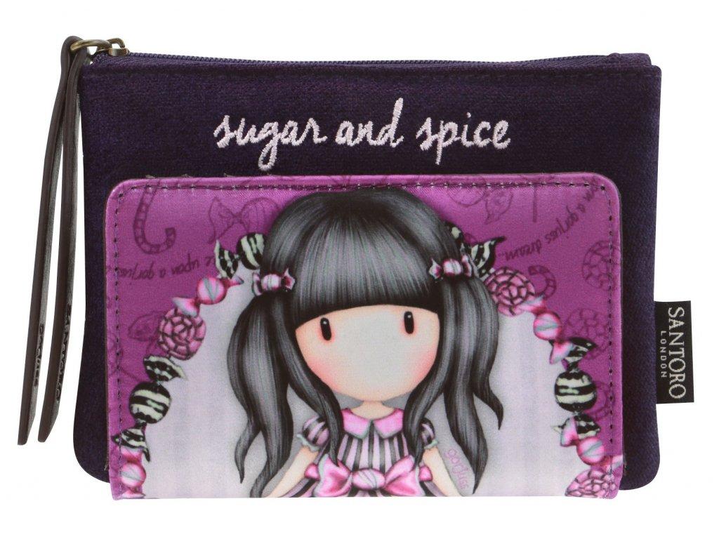 SANTORO - peněženka Gorjuss Sugar and Spice