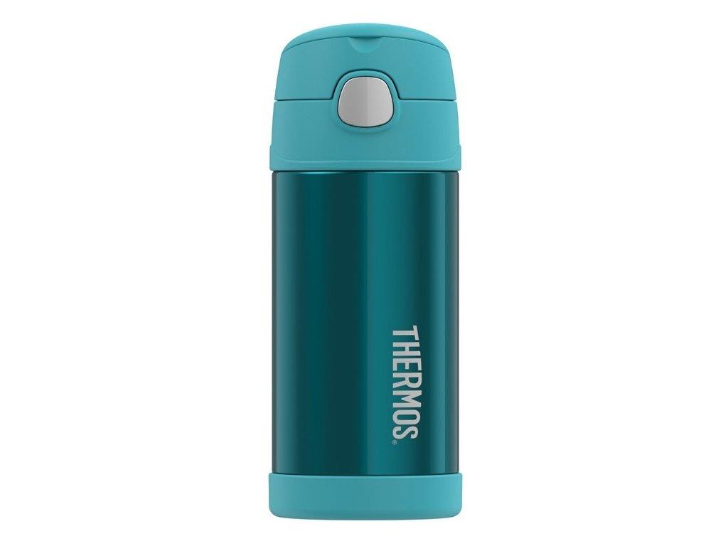 Thermos - FUNtainer dětská nerezová termoska 355 ml tyrkysová