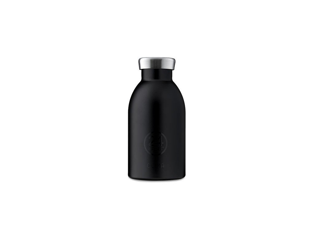 Termolahev od italského výrobce 24Bottles Clima Bottle Black 330 ml 1