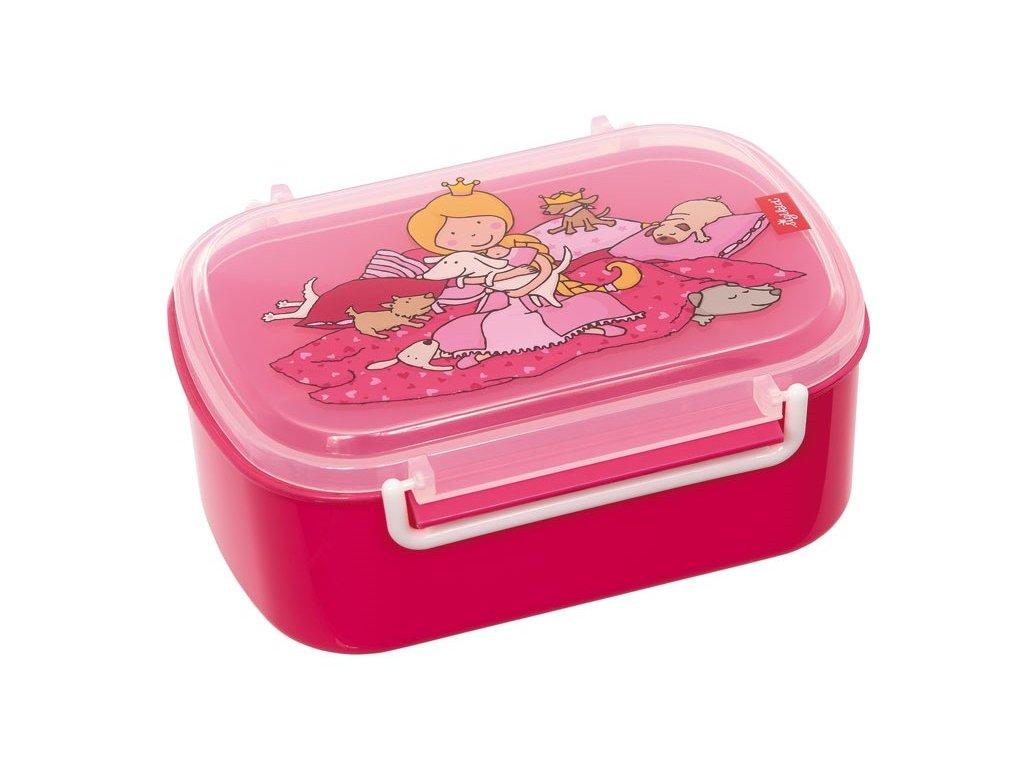Sigikid  - box na svačinu Princezna BRANDS PINKY QUEENY