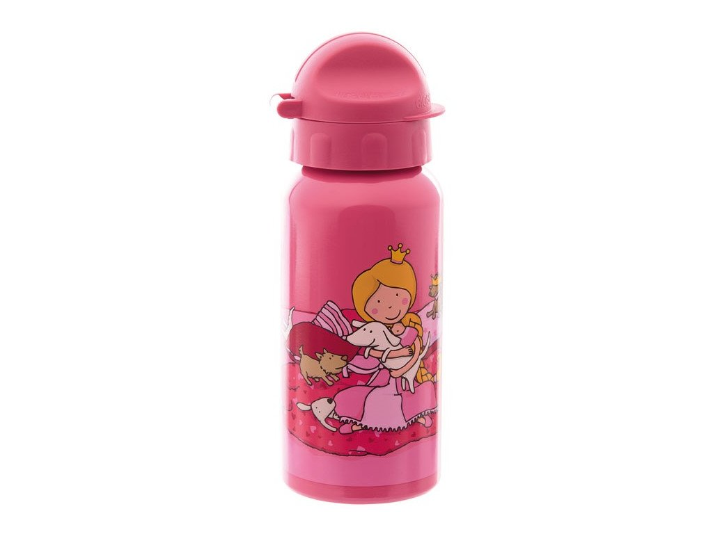 Sigikid  - lahev na pití 0,4l Princezna BRANDS PINKY QUEENY