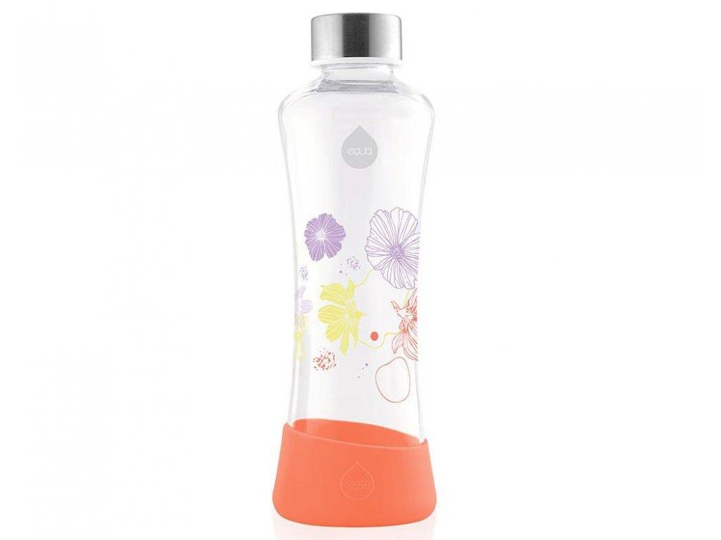 Lehká skleněná láhev na vodu EQUA POPPY 1