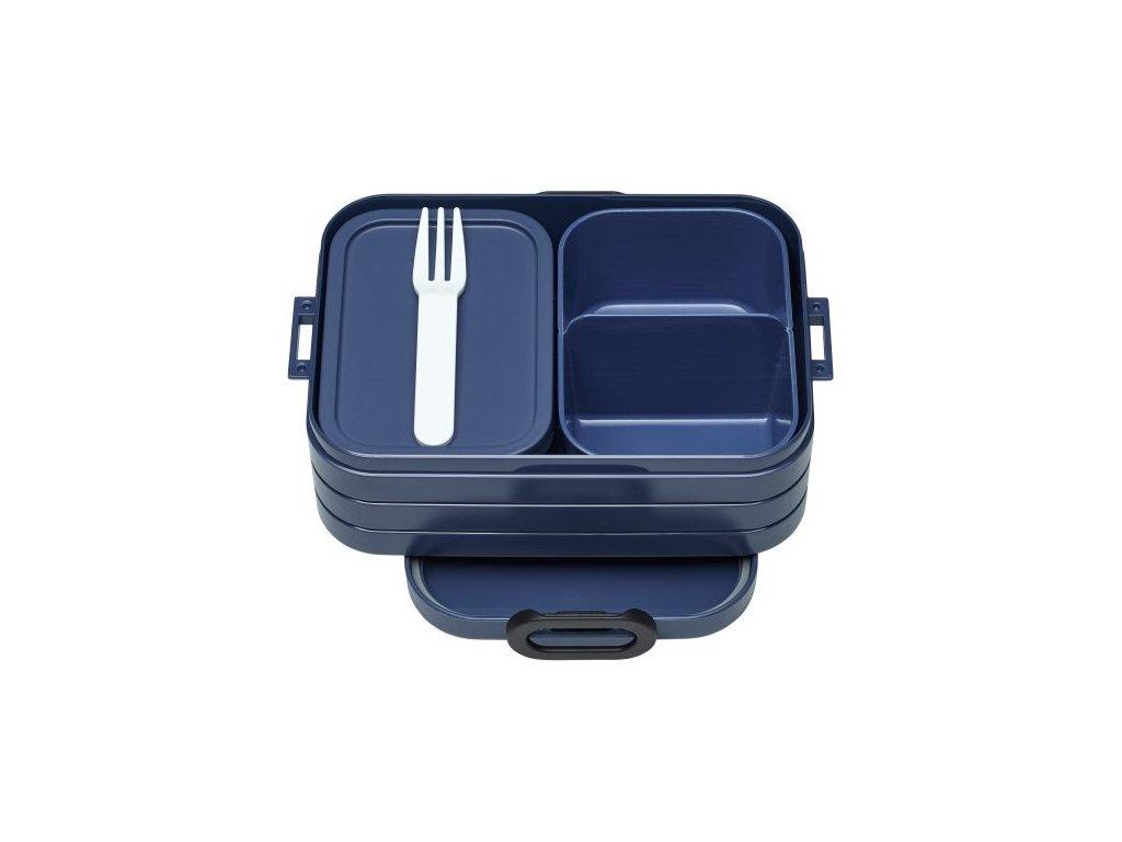 Mepal svačinový box Bento lunch box nordic denim